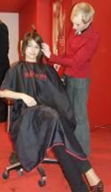 hostessy na pokazy fryzjerskie